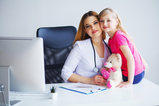 Prominent young pediatrician love doing her job Premium Photo