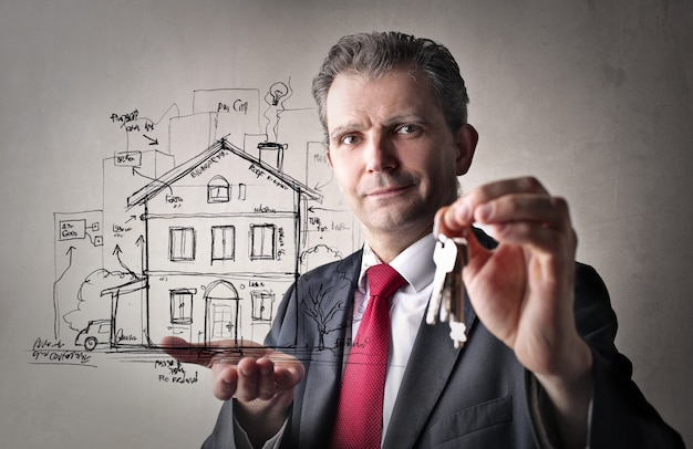 Property sale and opportunity Premium Photo