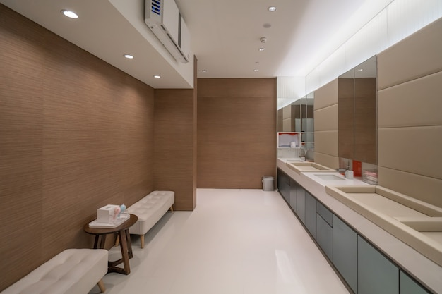 Public toilets for mothers and babies in shopping malls Premium Photo