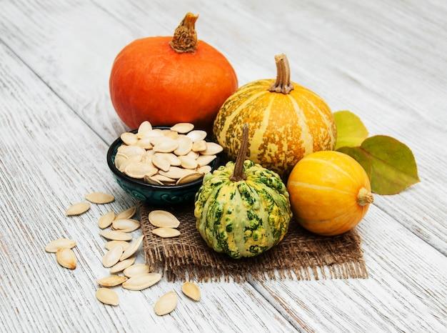 Pumpkin and seed Premium Photo
