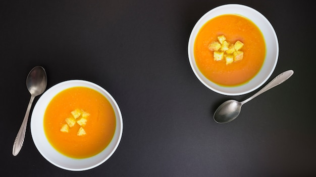 Pumpking soup Free Photo