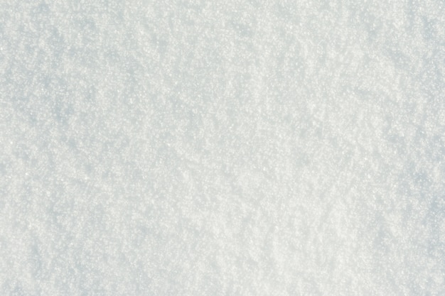 Pure white snow surface Free Photo
