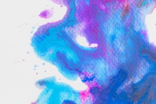 Purple blue watercolor wallpaper Free Photo