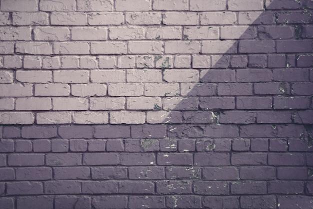 Фиолетовая кирпичная стена Premium Фотографии