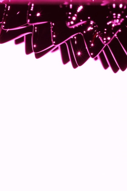 Purple ferromagnetic liquid metal with copy space Free Photo