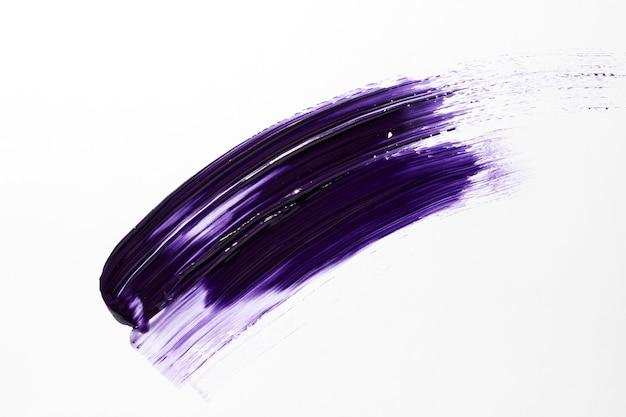 Фиолетовый мазок кистью Premium Фотографии