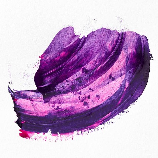 Фиолетовая краска пятно абстрактное искусство Бесплатные Фотографии