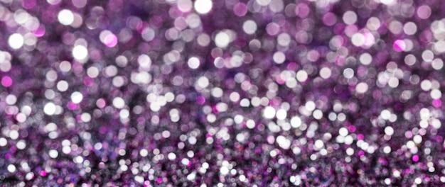 Glitter riflettenti viola Foto Gratuite