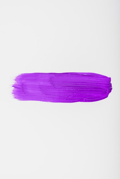 Purple watercolor brush strokes with space for your own text Free Photo
