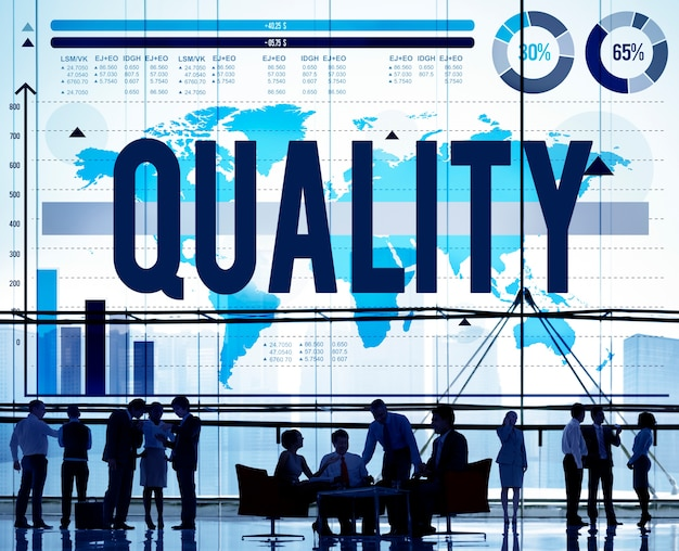Quality guarantee satisfaction best excellence concept Free Photo
