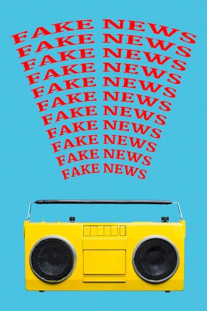 Радиовещание поддельные новости Бесплатные Фотографии