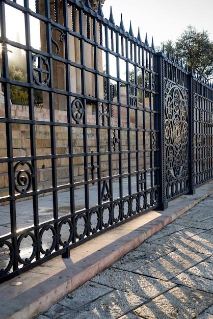 Перила церкви всех народов, иерусалим, израиль Premium Фотографии