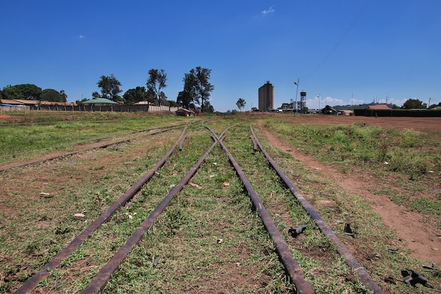 Railway station in arusha city, tanzania Premium Photo