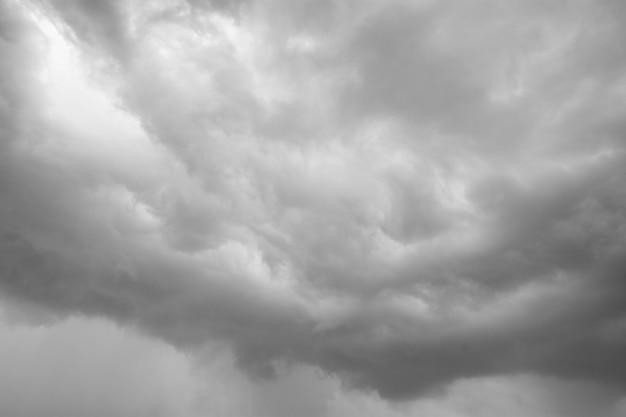 Rain clouds forming in the sky Premium Photo