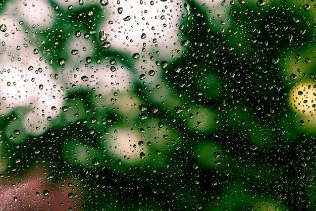 Дождь падает на окно Бесплатные Фотографии