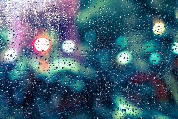 rain drops on the window photo free download. Black Bedroom Furniture Sets. Home Design Ideas