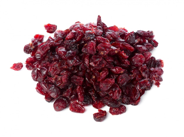Raisins isolated on white background Premium Photo