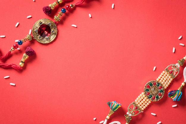raksha-bandhan-indian-festival-with-beautiful-rakhi-rice-grains_53476-5251.jpg (626×417)