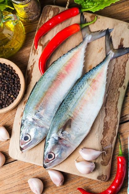 インド洋サバ(rastrelliger kanagurta) 無料写真