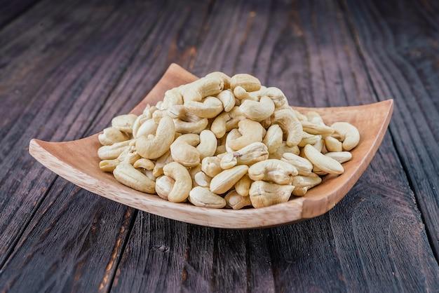 Raw cashew organic group vegetarian Free Photo