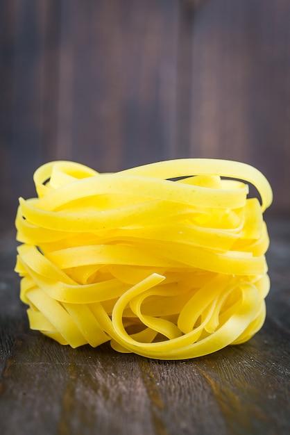 Raw pasta Free Photo