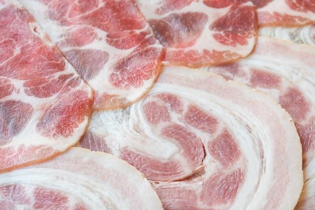 Raw pork meat Free Photo