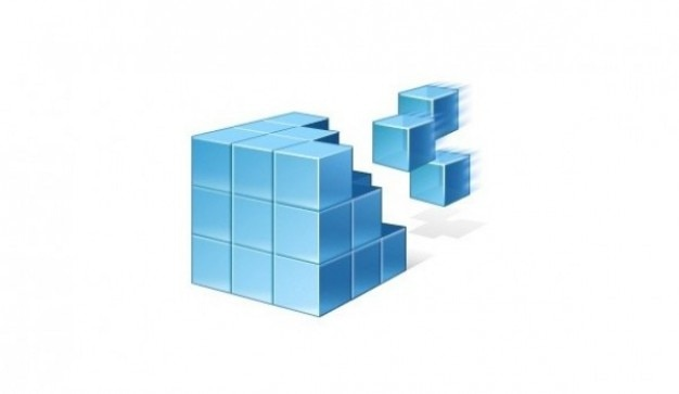 Cube Icon Download Realistic 3d Cubes Icon