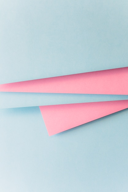 Realistic blue and pink paper background Free Photo