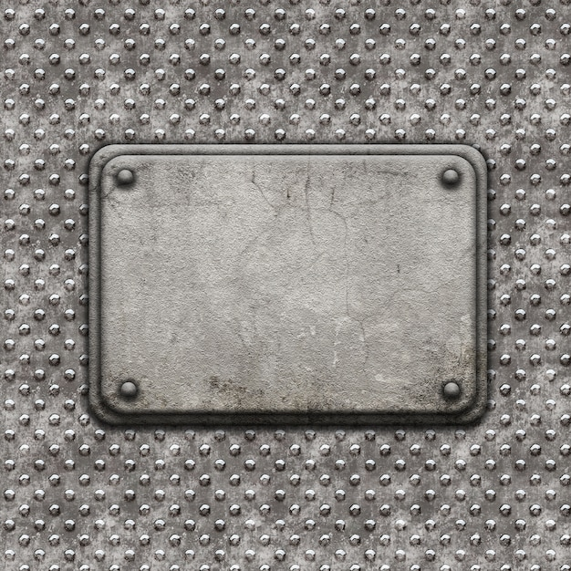 Realistic metal texture Free Photo