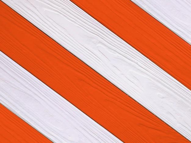 赤と白の木の質感、背景 Premium写真