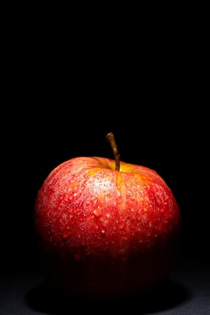 Red apple alone Premium Photo