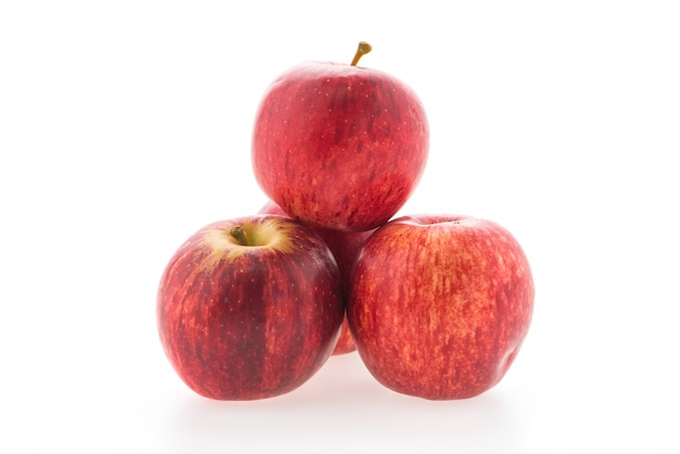 Red apple isolated Free Photo