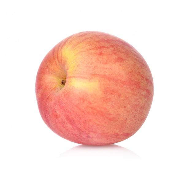 Red apple on white background Premium Photo