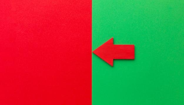 Красная стрелка, указывающая влево Бесплатные Фотографии