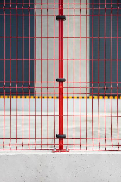 Red bars Free Photo