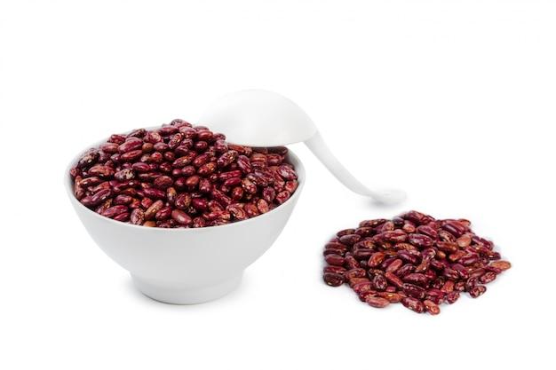 Red beans isolated Premium Photo