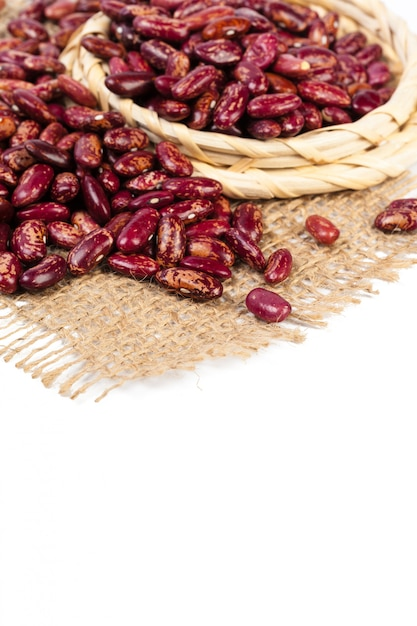 Red beans isolated Premium Photo