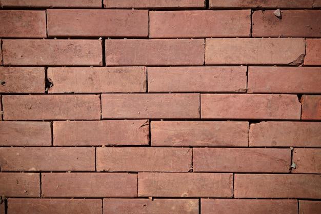 Red Brick Floor Texture Premium Photo
