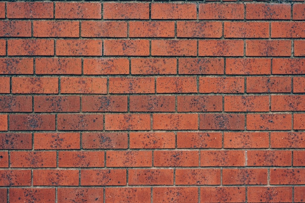 Red Brick Wall Background Texture Photo