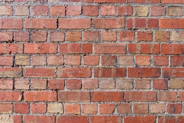 Red Brick Wall Background Free Photo