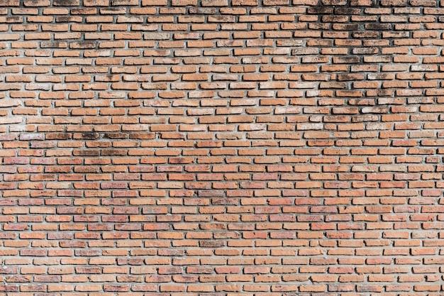 Red brick wall background. Premium Photo