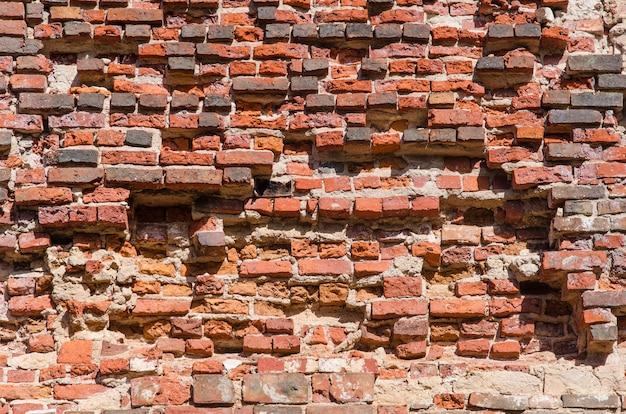 Red brick wall texture Premium Photo