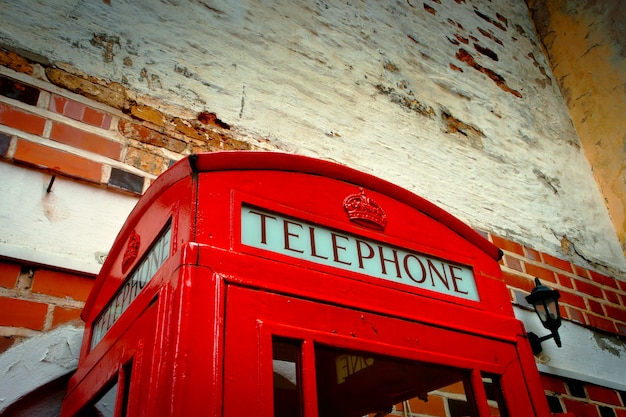 Red call-box by cu Photo | Premium Download