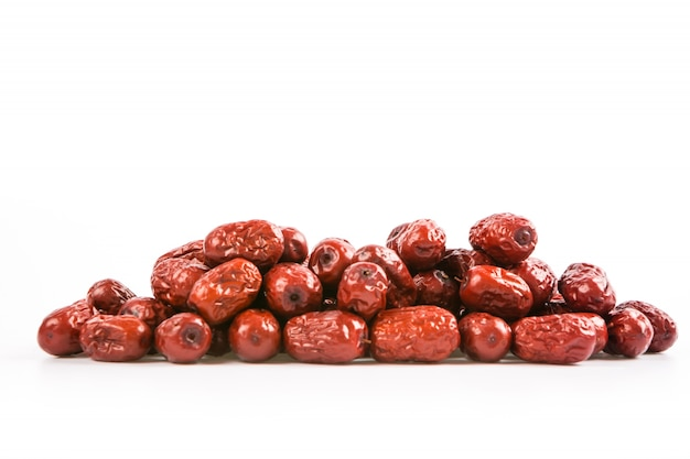 Red dates pile Free Photo