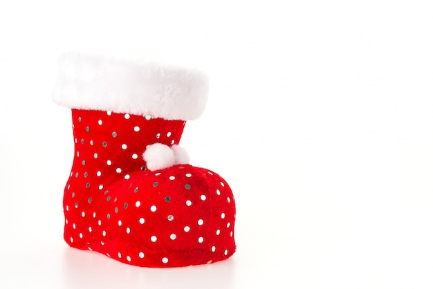 Red gift bright sock traditional Free Photo