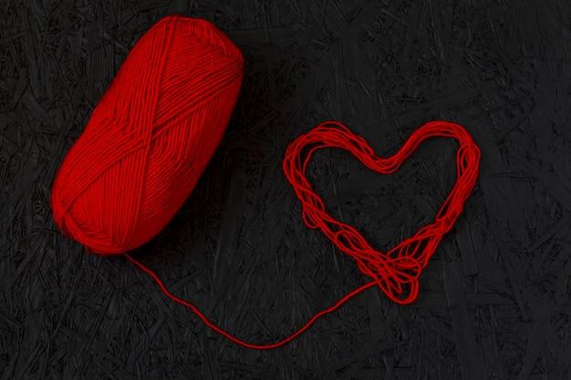 Red hearts Premium Photo