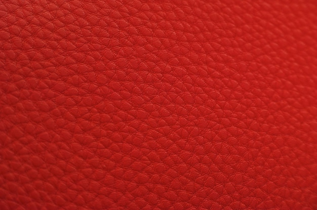 Red Leather Texture Photo Free Download