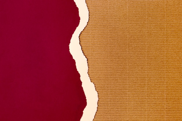 Красный фон формы бумаги дизайн Premium Фотографии