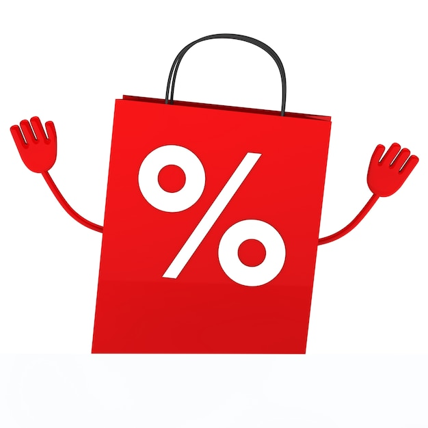 Red purchase bag Photo | Free Download