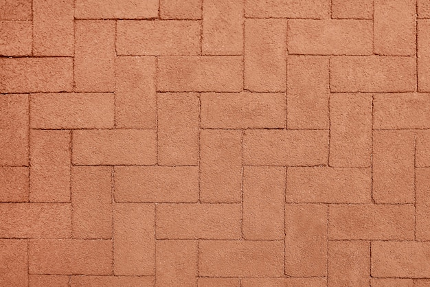 Red stone pavement background texture Premium Photo